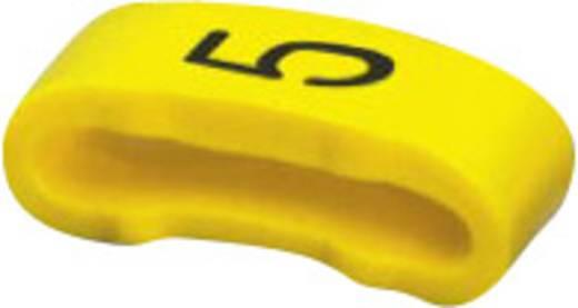 Phoenix Contact 0826514:5 SD-WMTBS (S) YE:5 Markeerclip Opdruk 5 Buitendiameter 16 mm (min)