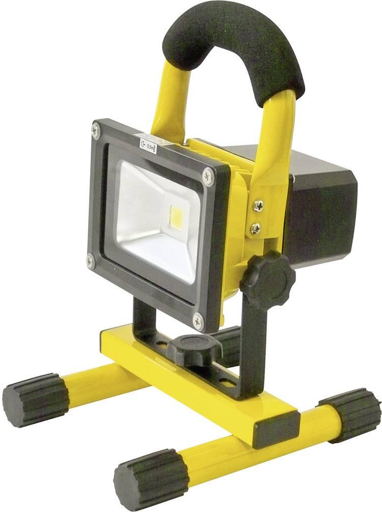 SMD-LED Werklamp werkt op een accu Profi Power 2410003 Projecteur LED voiture sans fil 12   24   230 V. rechargeable 10 W 800 lm