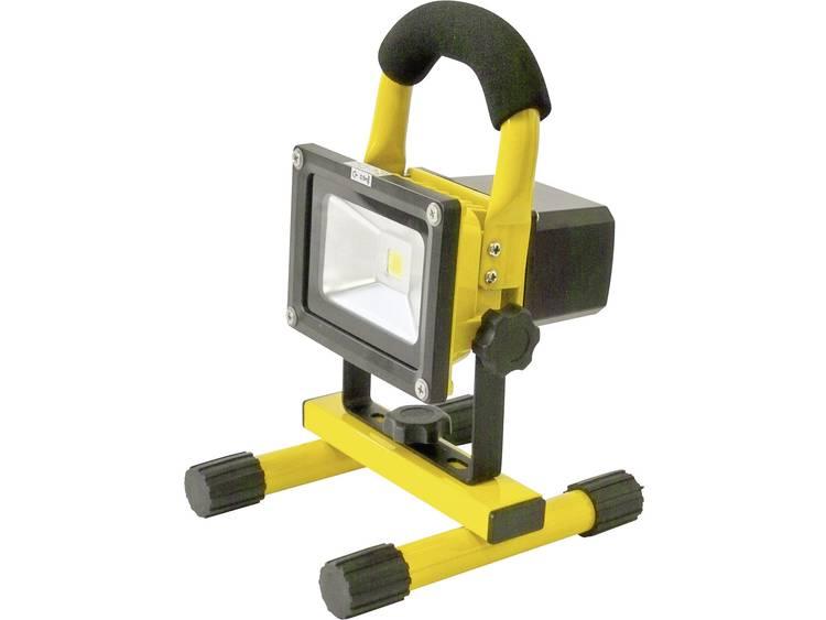 SMD LED Werklamp werkt op een accu Profi Power 2410003 10 W 800 lm