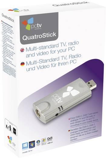 PCTV Systems QuatroStick nano 522e DVB-T, DVB-C TV-stick