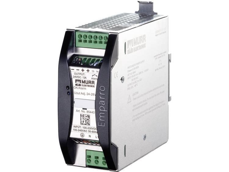 Murr Elektronik Emparro 5 100 240 24 Din rail netvoeding 24 V DC 5 A 120 W 1 x