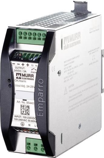 Murr Elektronik Emparro 5-100-240/24 Din-rail netvoeding 24 V/DC 5 A 120 W 1 x