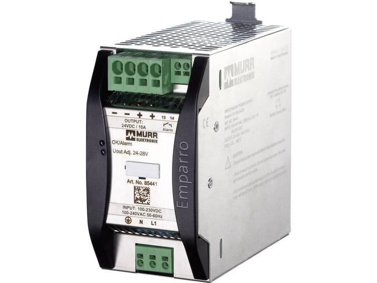 Murr Elektronik Emparro 10 100 240 24 Din rail netvoeding 24 V DC 10 A 240 W 1 x