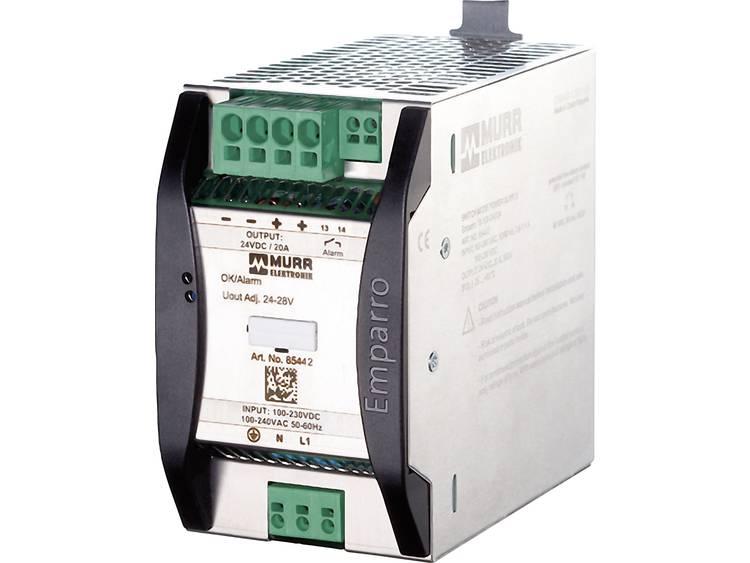 Murr Elektronik Emparro 10 100 240 48 Din rail netvoeding 48 V DC 10 A 480 W 1 x
