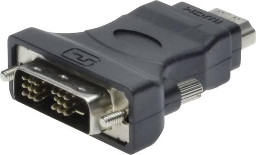 DVI / HDMI Adapter [1x DVI-stekker 18+1-polig - 1x HDMI-bus] Zwart Digitus