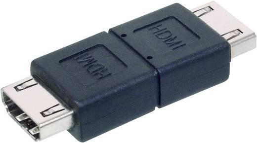 HDMI Adapter [1x HDMI-bus - 1x HDMI-bus] Zwart Digitus