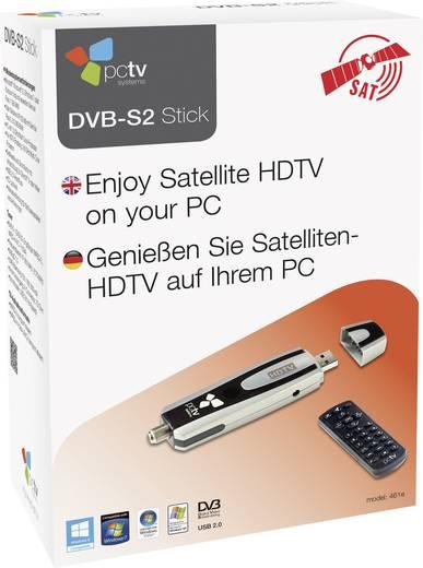 DVB-S TV-stick PCTV Systems PCTV DVB-S2 Stick 461E Met afstandsbediening, Opnamefunctie Aantal tuners: 1