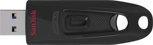 SanDisk Cruzer Ultra 16 GB USB-stick Zwart USB 3.0