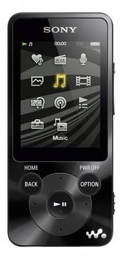 Sony Walkman® NWZ-E584 MP3-speler, MP4-speler 8 GB Zwart FM-radio, Digitale ruisminimalisering