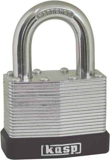 Kasp K13030D Hangslot 30 mm Zilver Sleutelslot
