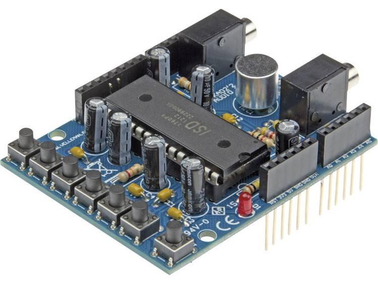 Arduino Shield Audio Toepassing: Audio in en uitgangen, ingebouwde m