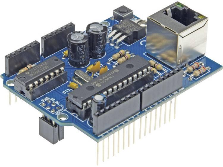 Arduino Shield Ethernet Toepassing: Een Arduino verbinden met een ne