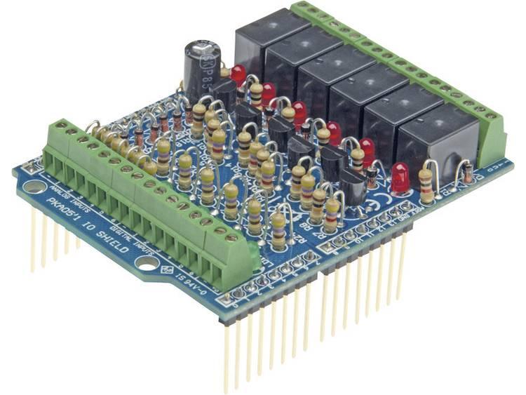 Arduino Shield I-O Toepassing: Het aansluiten van randapparatuur