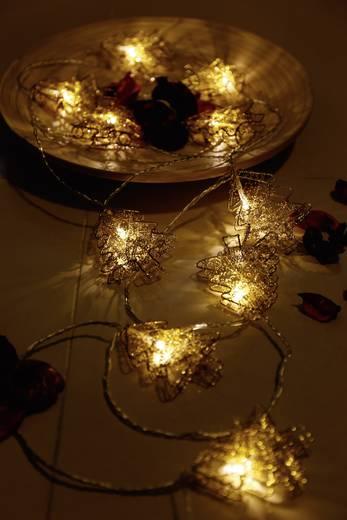 Motief lichtketting Kerstboom Binnen Werkt op het lichtnet 10 LED Warmwit Verlichte lengte: 2.7 m Polarlite 678781
