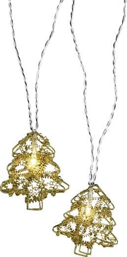 Motief lichtketting Kerstboom Binnen werkt op het lichtnet<