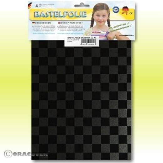 Oracover Orastick Fun 4 48-077-071-B Plakfolie (l x b) 300 mm x 208 mm Parelmoer grafiet-zwart