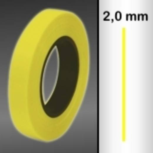 Sierstroken Oracover Oraline 26-039-002-M (l x b) 15000 mm x 2 mm Transparant geel