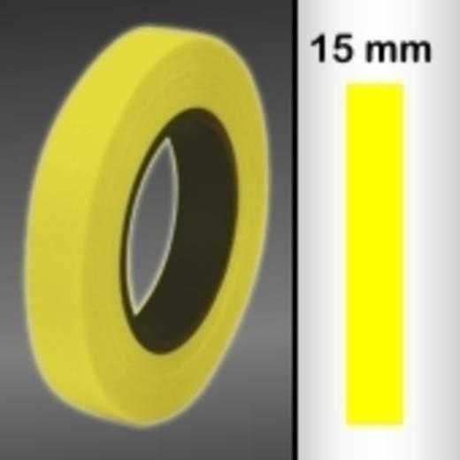 Sierstroken Oracover Oraline 26-039-015-M (l x b) 15000 mm x 15 mm Transparant geel