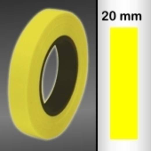 Sierstroken Oracover Oraline 26-039-020-M (l x b) 15000 mm x 20 mm Transparant geel