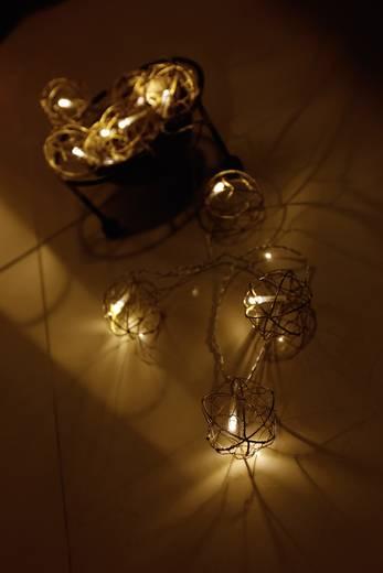 Motief lichtketting Bollen Binnen werkt op het lichtnet