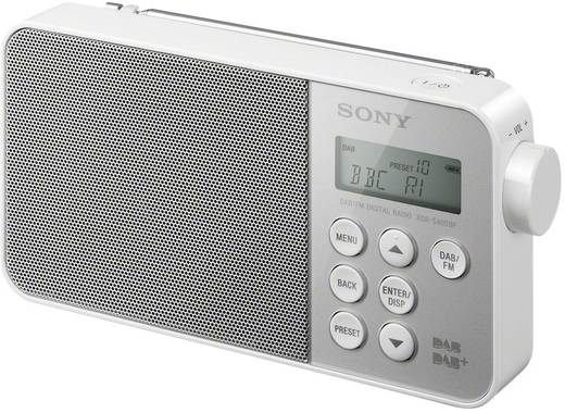 DAB+ Transistorradio Sony XDR-S40 DAB+, FM Wit