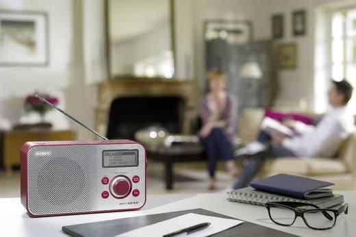 DAB+ Transistorradio Sony XDR-S60 AUX, DAB+, FM Rood