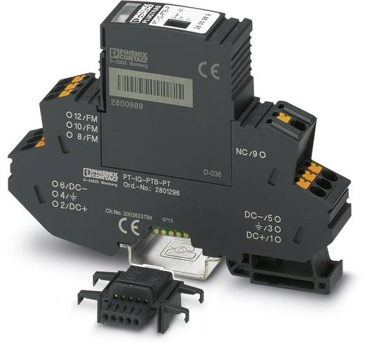 Phoenix Contact PT-IQ-PTB-PT 2801296 Voedingsmodule en module voor afstandsmelding Overspanningsbeveiliging voor: Verde