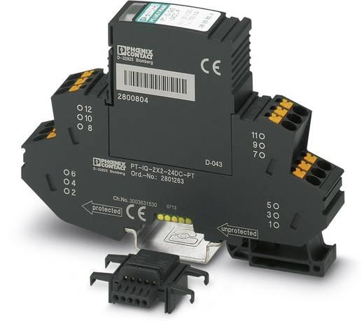 Phoenix Contact PT-IQ-2X2+F-24DC-PT 2801264 Overspanningsafleider Overspanningsbeveiliging voor: Verdeelkast 10 kA