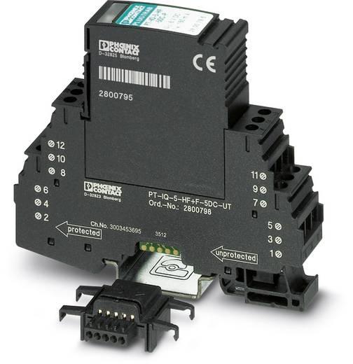 Phoenix Contact PT-IQ-5-HF+F-12DC-PT 2801295 Overspanningsafleider Overspanningsbeveiliging voor: Verdeelkast 10 kA
