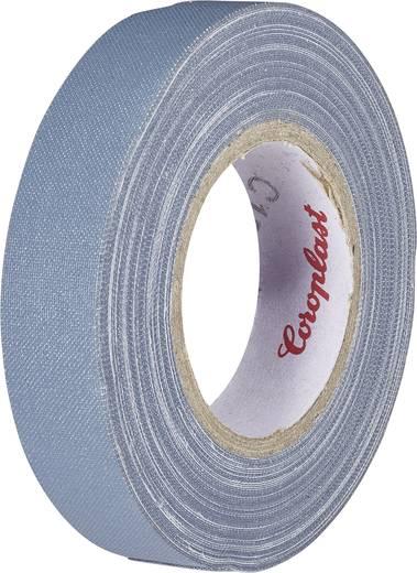 Coroplast Textieltape Grijs (l x b) 10 m x 19 mm Rubber Inhoud: 1 rollen