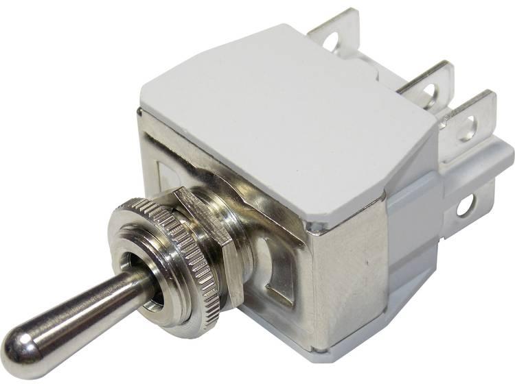 APEM 6-641H/2 / 6411074 Tuimelschakelaar 250 V/AC 6 A 2x uit/aan Continu 1 stuks