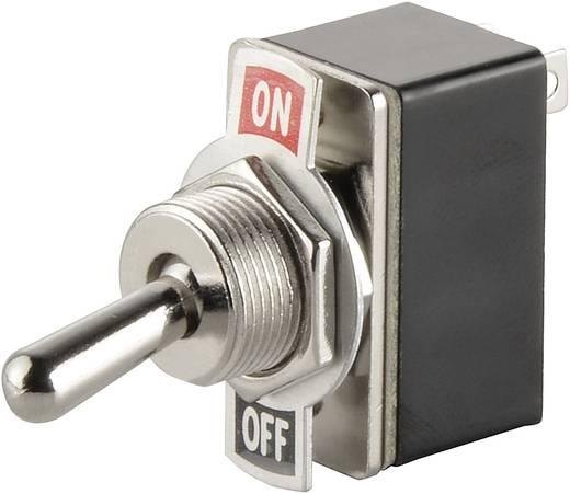 SCI R13-2-05 Tuimelschakelaar 250 V/AC 1.5 A 1x uit/aan vergrendelend 1 stuks