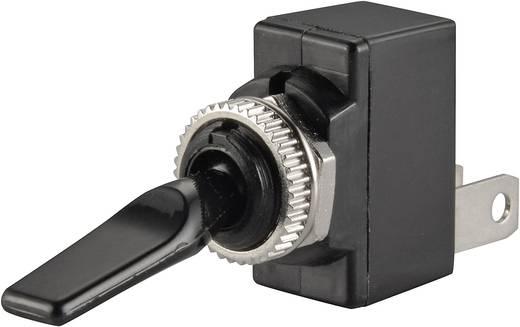 SCI R13-18B-SQ BLACK LEVER Auto tuimelschakelaar 12 V/DC 20 A 1x uit/aan vergrendelend 1 stuks