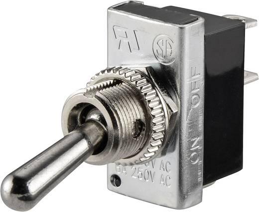 SCI R13-25A2-01 Tuimelschakelaar 250 V/AC 6 A 1x uit/aan vergrendelend 1 stuks