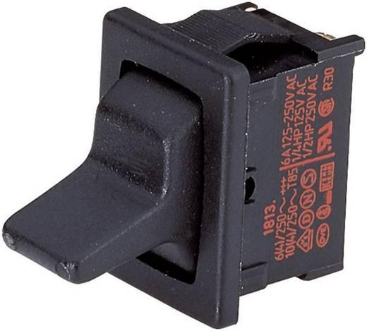 Marquardt 1818.1102 Tuimelschakelaar 250 V/AC 6 A 1x aan/uit/aan vergrendelend/0/vergrendelend 1 stuks