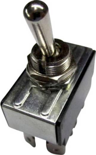 SCI R13-28F-01 Tuimelschakelaar 250 V/AC 10 A 2x uit/aan vergrendelend 1 stuks