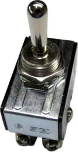 SCI R13-28F-06 Tuimelschakelaar 250 V/AC 10 A 2x uit/aan vergrendelend 1 stuks
