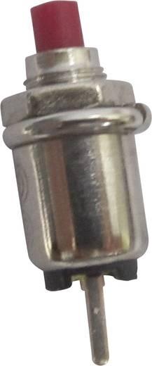 SCI R13-81A-05RT Druktoets 125 V/AC 0.5 A 1x uit/(aan) schakelend 1 stuks
