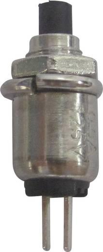 SCI R13-81A-05BK Druktoets 125 V/AC 0.5 A 1x uit/(aan) schakelend 1 stuks