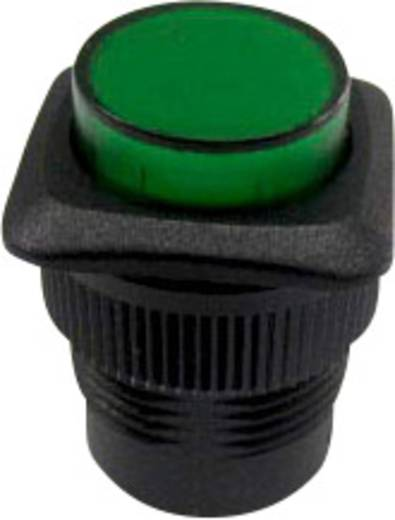 SCI R13-508AL-05GN Druktoets 250 V/AC 1.5 A 1x uit/(aan) schakelend 1 stuks