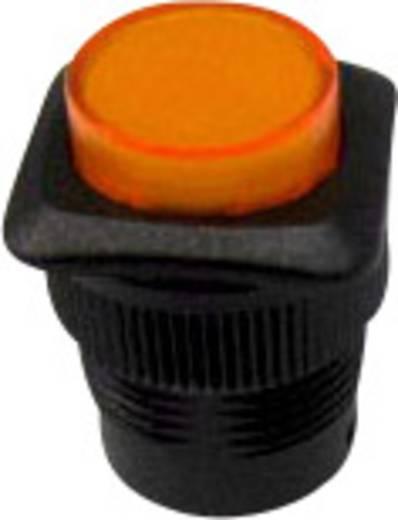 SCI R13-508AL-05YL Druktoets 250 V/AC 1.5 A 1x uit/(aan) schakelend 1 stuks