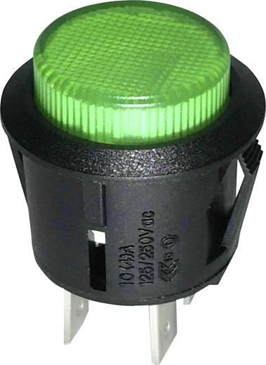 SCI R13-523BL-05GN Drukschakelaar 250 V/AC 1.5 A 1x uit/aan vergrendelend 1 stuks