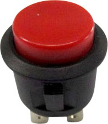 SCI R13-527A-02RT Druktoets 250 V/AC 6 A 1x uit/(aan) schakelend 1 stuks