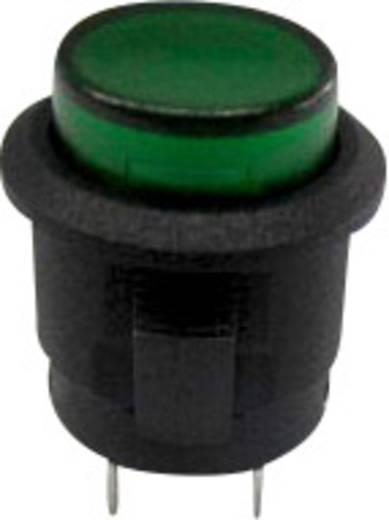 SCI R13-523AL-05GN Druktoets 250 V/AC 1.5 A 1x uit/(aan) schakelend 1 stuks