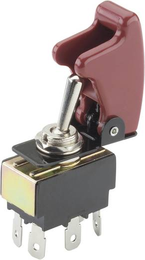 SCI R13-28B-01/R17-10 Tuimelschakelaar 250 V/AC 10 A 2x aan/aan vergrendelend 1 stuks