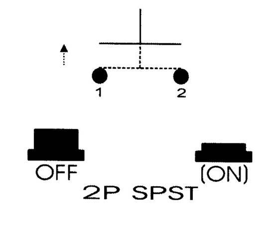 SCI R13-529ALRT Druktoets 250 V/AC 0.5 A 1x uit/(aan) schakelend 1 stuks