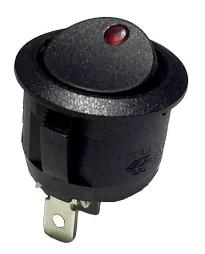 28430C603 Wipschakelaar 250 V/AC 6 A 1x uit/aan vergrendelend 1 stuks