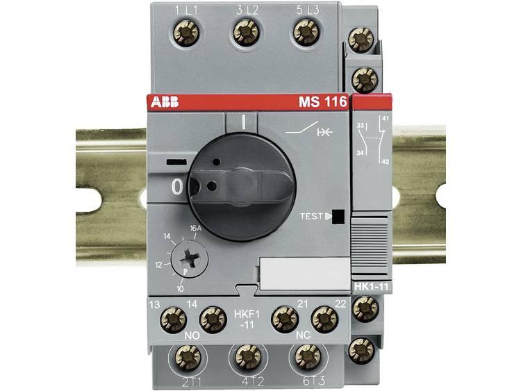ABB Hulpcontact 1NO+1NC Voor zijmontage, max. 2 stuks Voor MS 116-132 HK1-11 Inbouw aan de rechter z