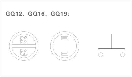 GQ 19H-N Vandalismebestendige druktoets 48 V/DC 2 A 1x uit/(aan) IP65 schakelend 1 stuks