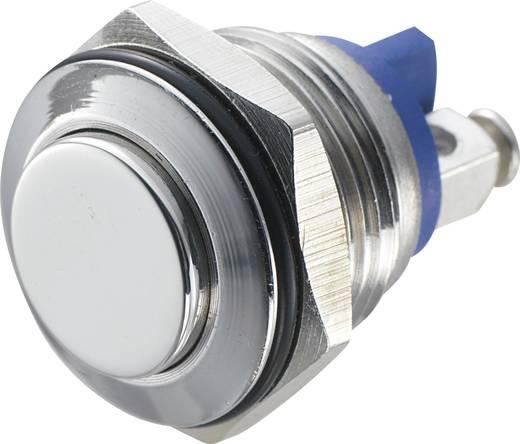 TRU Components GQ 16H-S Vandalismebestendige druktoets 48 V/DC 2 A 1x uit/(aan) IP65 schakelend 1 stuks